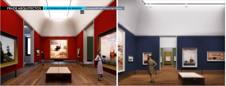 Proyecto museográfico del Museo de Málaga. Frade Arquitectos